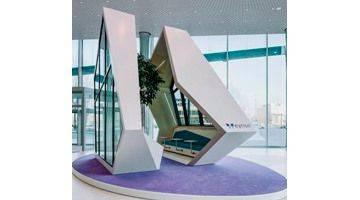 Artlife baut eyrise® Cubical für Merck Innovation-Center