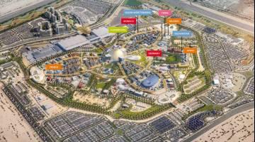 Nüssli errichtet zehn Expo Pavillons in Dubai