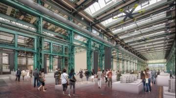 Halle 550 in Zürich soll mehrere tausend Quadratmeter für Events bieten