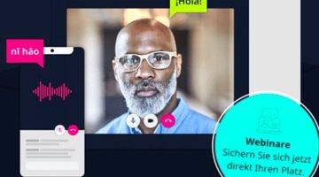 Qonda bietet Livestreamplayer für Simultanübersetzungen
