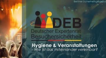 DEB veröffentlicht Richtlinie über Veranstaltungssicherheit