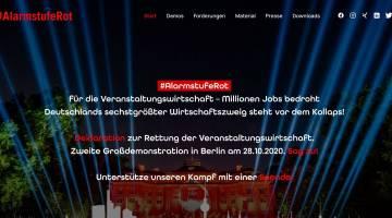 Veranstaltungswirtschaft plant zweite Großdemonstration in Berlin