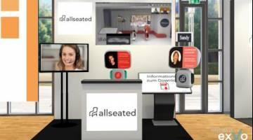 allseated stellt Plattform exVo vor