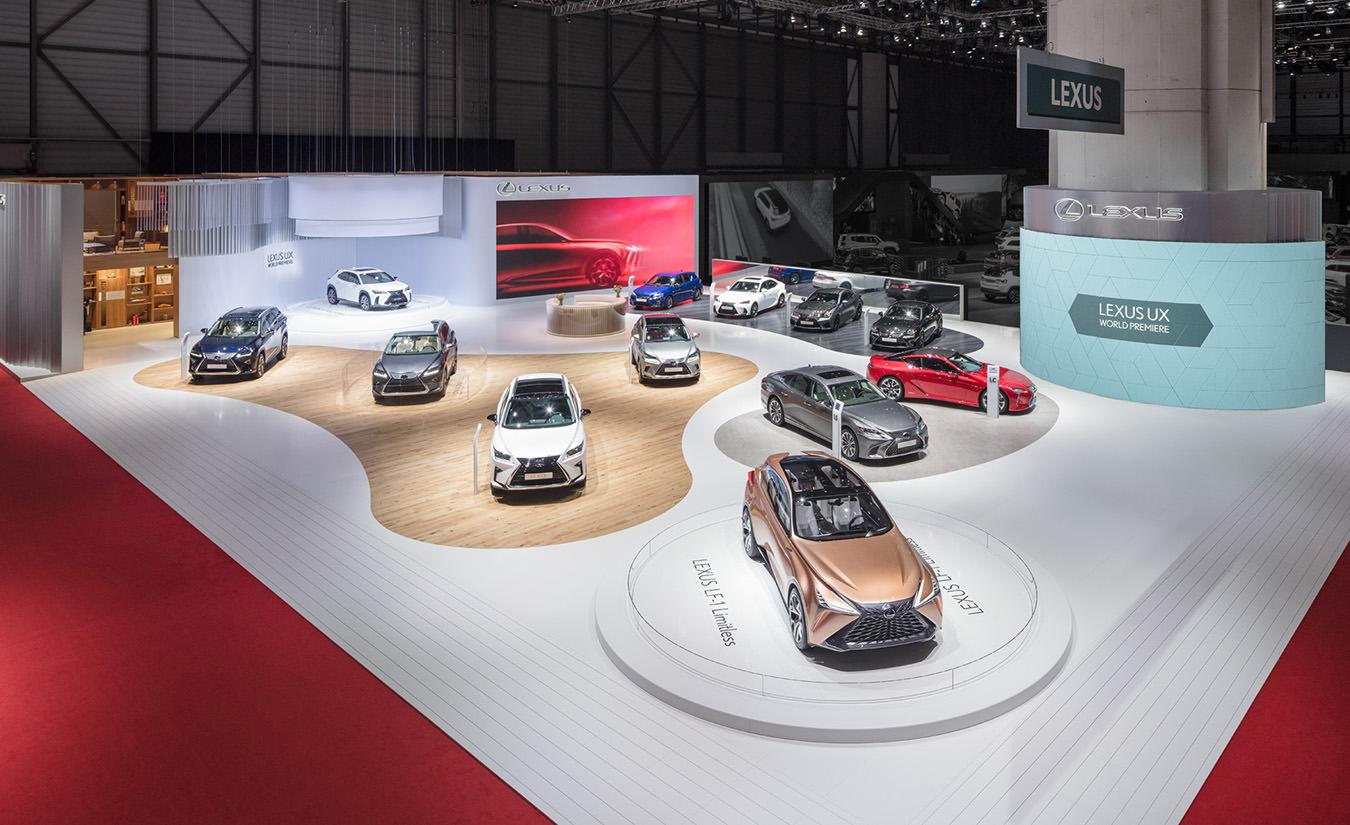 Lexus Messestand Genfer Automobilsalon